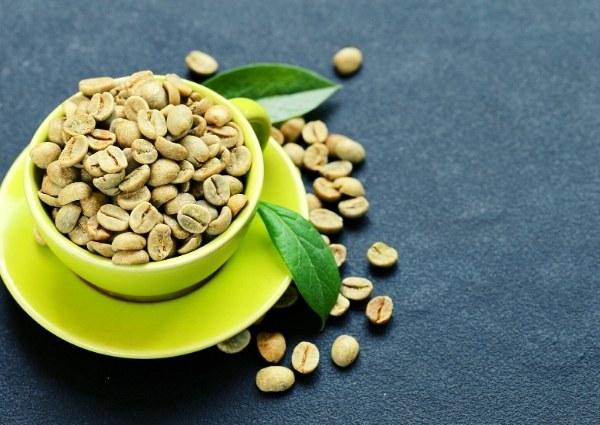 Brûleur de graisse bio : café vert